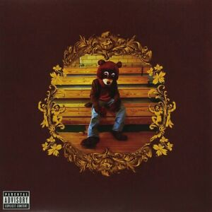 """Kanye West The College Dropout album Cover Poster 24x24"""" Music Art Silk Print"""