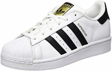 ADIDAS ORIGINALS SUPERSTAR TRAINERS WHITE/BLACK GIRLS BOYS LADIES UNISEX SIZES