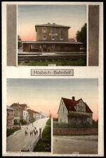 HÖSBACH-BAHNHOF LK Aschaffenburg * Schule, Geschäftshaus J. Steigerwald, um 1915