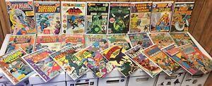 DC Comic Lot- Superman, Batman, Aquaman, World's Finest, 30+ Issues!