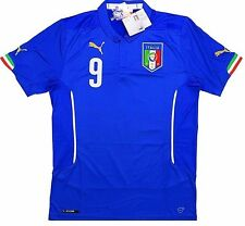Italy *BALOTELLI #9* 2014 World Cup Home Jersey (L) *BRAND NEW W/TAGS*