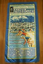 Olympic Games Collection by Cannon Beach Towel Atlanta 1996 Cotton Swimmers
