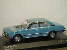 BMW 5-Series 520 Saloon 1972 - Minichamps 1:43 in Box *39604