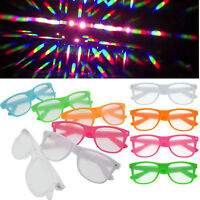 Rave Glasses Diffraction Lens Gradient Firework kaleidoscope Rainbow Glasses