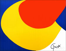 Alexander CALDER Braniff Airlines Convection Original 1974 Lithograph