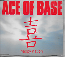 ACE OF BASE - Happy nation CDM 3TR Europop Eurodance 1993 (BARCLAY / METRONOME)