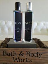 SET OF 2 - Bath & Body Works Fine Fragrance Mist WHITE and BLACK