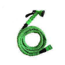 AQUA© Flexibler Gartenschlauch 7,5-30M Wasserschlauch dehnbarer Bewässerung