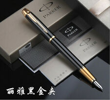 Classcial Parker black high-end sign pen fountain pens IM series