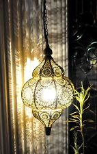 Modern Decor Hanging Lamps Golden Moroccan Ceiling Lights Home Lantern Gifts