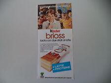 advertising Pubblicità 1977 KINDER BRIOSS