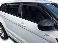 DRO27239 Land Rover RANGE ROVER EVOQUE 5 door wind deflectors 4pc  TINTED HEKO