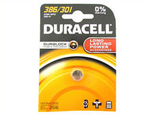 A2zworld PILA Batteria Lithium a Bottone Duracell Litio 386 301 D386 Sr43 280-41