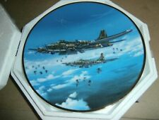 Hamilton Great Fighter Planes of Wwii Plate Memphis Belle Raymond Waddey 1994