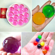 15X Crystal Soils Magic Large Big Dragon Ball Water Beads Gel Ball Wedding Decor