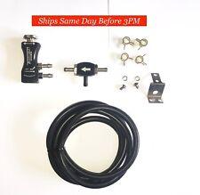 TurboSmart - In-Cabin Manual Boost Controller w/ Boost Tee | 0106-1002 | Black