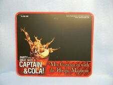 2008 CAPTAIN MORGAN SPICED RUM AND COLA TIN SIGN BASKETBALL HOOPS MAYHEM BAR.COM