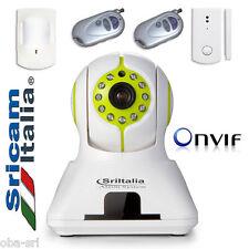 ALARM SYSTEM Antifurto wifi wireless ip camera unico dispositivo ONVIF Smartphon