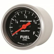"Auto Meter 3310 2-1/16"" Sport-Comp Electric Programmable Fuel Level, 0-280 Ohm"