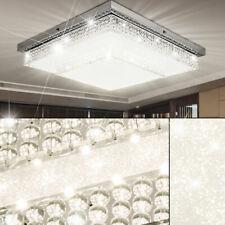 Lámpara De Techo LED Iluminación Diseño Luz Cristal Effekt-Folie Salón