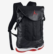 BRAND NEW NIKE AIR JORDAN 11 BRED Backpack Shoes bag Black/Red 631693-010 W/TAG