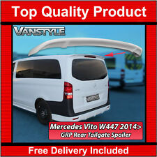 MERCEDES BENZ VITO W447 2014+ REAR GRP TAILGATE ROOF SPOILER WING