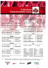 Sunderland Football Reserve Fixture Programmes (2000s)