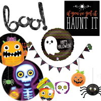 Ghosts and Ghouls Halloween Party Supplies Tableware Decorations Balloons Pinata