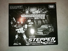 ★★ TRANSFORMERS TAKARA UNITED DELUXE CLASS STEPPER LIMITED RARE JAPAN EXKLUSIV★★