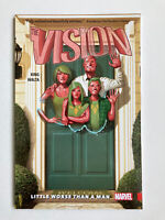 Vision Vol 1 Little Worse Than A Man By King Marvel Tpb Graphic Novel NICE COPY!