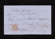 GBAB 02 GB QV 1868 old document revenue stamp #4  1867