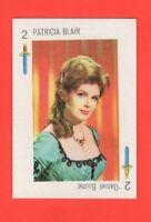 Patricia Blair 1970's Spanish Tele Banco  Playing Card Rare Purple