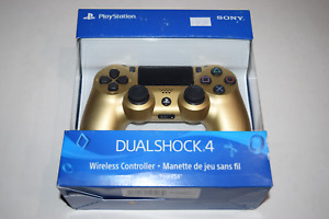 Dualshock 4 Wireless Gold Controller CUH-ZCT2U Playstation 4 PS4 New Sealed Box