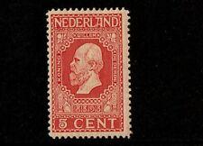 nederland nr 92 POSTFRIS  100 % ORIGINELE GOM( MNH )