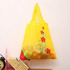 Hot Eco Handbag Strawberry Foldable Shopping Tote Bags Reusable Bag 8 colors New