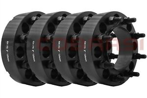 """4 WHEEL SPACERS ADAPTERS FORD SUPER DUTY 8 LUG F-250 F-350 EXCURSION 2"""" THICK"""