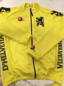 D`Helvetia Cold Cycling Jacket Lion of Flander/Vlaanderen