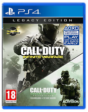 CALL OF DUTY INFINITE WARFARE & MODERN WARFARE REMASTERED LEGACY EDITION PS4 NEW