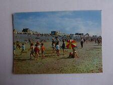 cayeux sur mer-sur le sable de la plage a marée basse