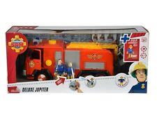 Fireman Sam Deluxe Jupiter Fire Engine Car Vehicle with Penny