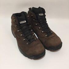 HI-TEC RAINIER WP waterproof work boot hiiking boot shoe size 12 Leather outdoor