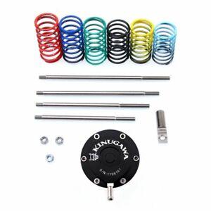 Kinugawa Universal Turbo Adjustable Wastegate Actuator w/ 6 x spring & 4 x Rod