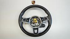Porsche 9Y0 Cayenne E3 Multifunktions Sportlenkrad Carbon Leder  Lenkrad i.42