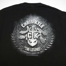 CHRIS KYLE Frog Foundation Military Navy Seal Sniper TEE T SHIRT Sz Mens L