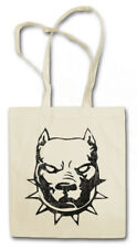 PITBULL SHOPPER SHOPPING BAG Dog you won't get out fight combat attack Chain