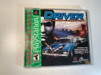 DRIVER you are the wheelman Playstation 1 complete