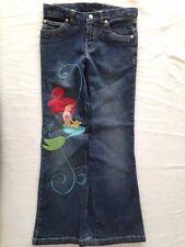 Disney Little Mermaid Ariel Jeans Embroidered Bling Sz 8