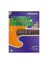 Chanson Française for Jazz Guitar Learn to Play MUSIC BOOK & CD Guitar