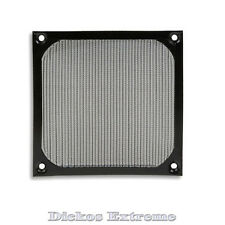 140mm Aluminium PC Fan filter / Guard - Black