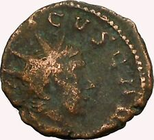 TETRICUS II 273AD  Ancient  Roman Coin RARE Sacrificial implements  i35360